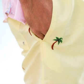 Palm swim shorts