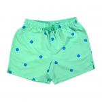 Dots Swim Shorts Green