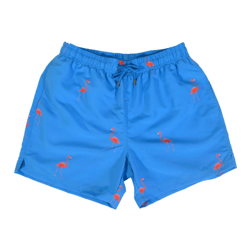 4a41fa2276 Flamingo Swim Shorts – Men's designer swimwear by Decisive