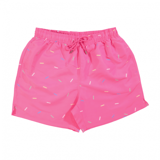 Sprinkles Swim Shorts Pink