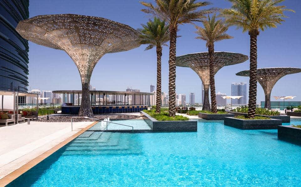Rosewood Pool Abu Dhabi