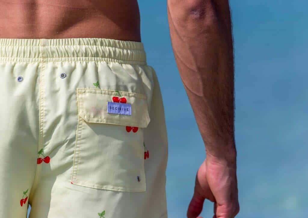 Cherry Swim Shorts