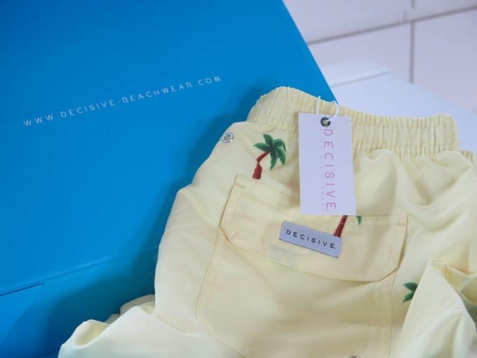 Palm Swim Shorts in Box