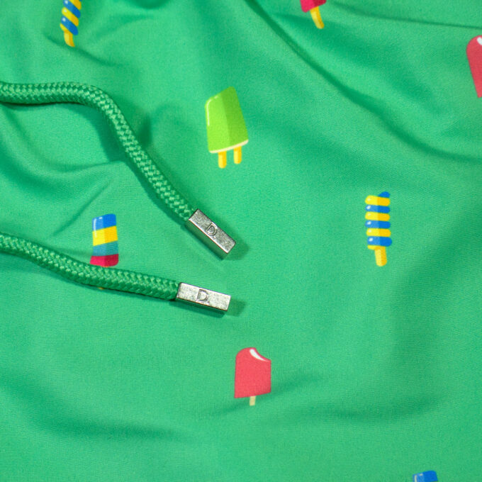 Popsicles Green Swim shorts stoppers