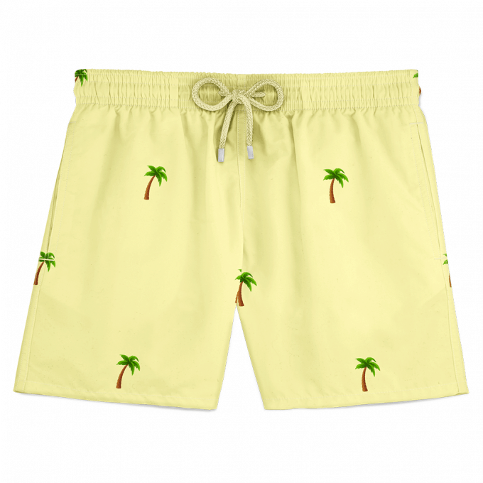 Palm Swim Shorts Yellow
