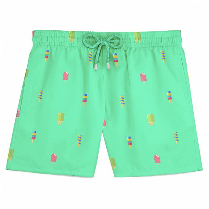 Popsicle Swim Shorts Green