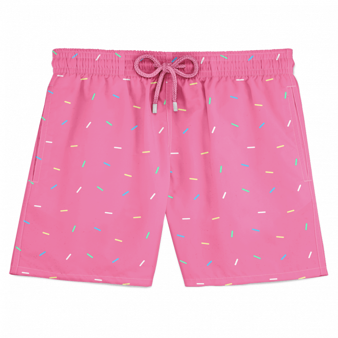 Sprinkles Swim Shorts Pink