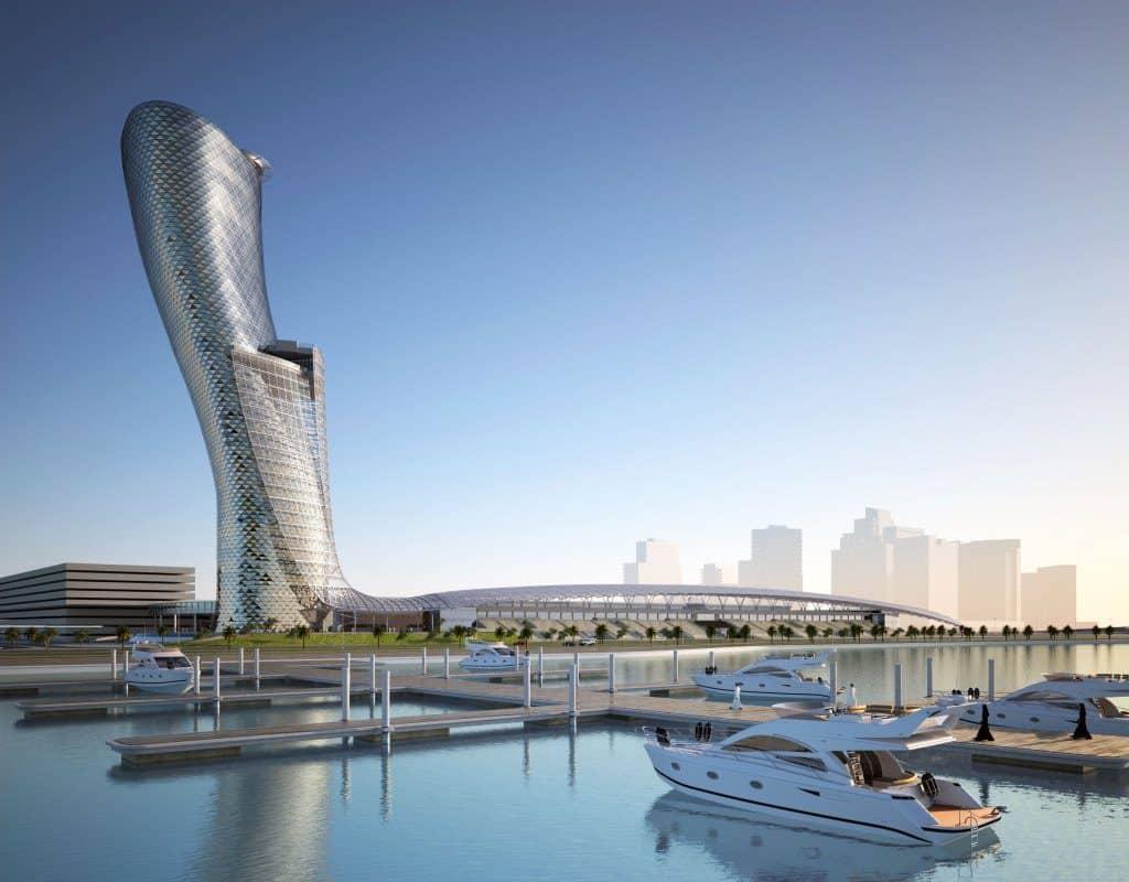 Hotel Hyatt Capital Gate Abu Dhabi