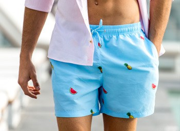 PineMelon Deicisve Swim Shorts