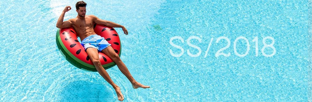 Decisive Swim Shorts Logo