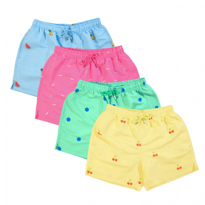 Decisive Lounge Pack Swim Shorts
