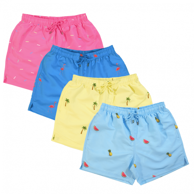 Decisive Party Pack Swim Shorts