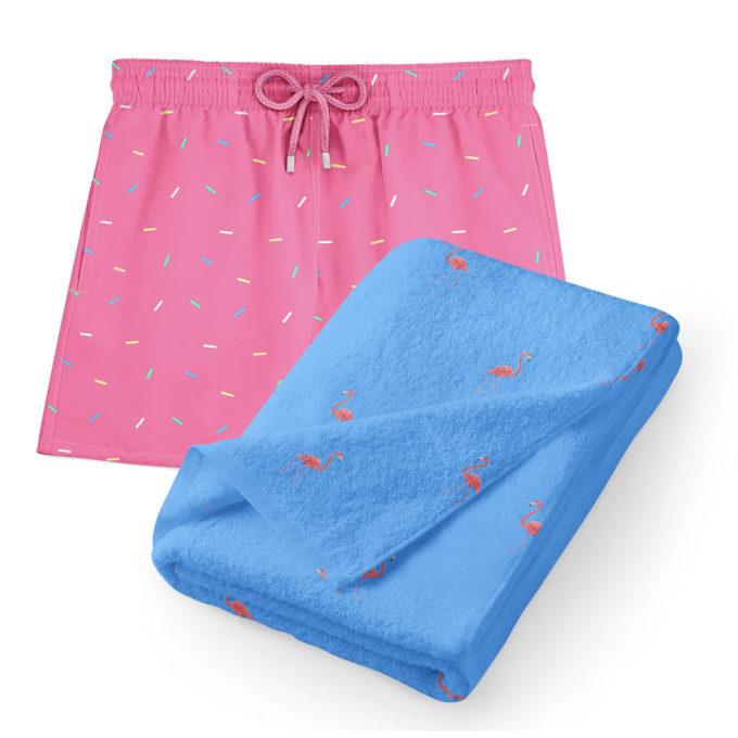 Ibiza towel pack swim shorts