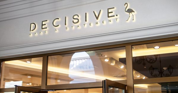 Decisive Store Front