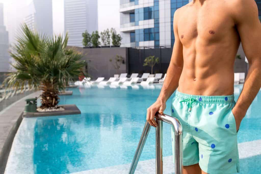 best swim shorts for short men
