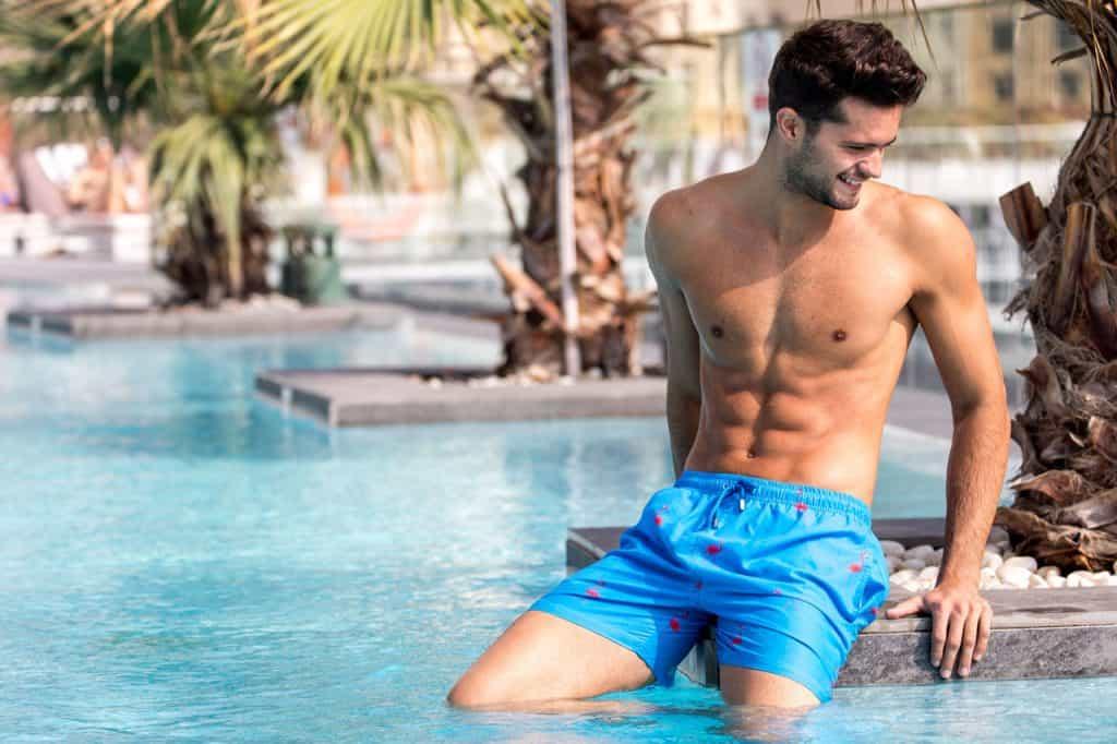 best swim shorts for shy guys flamingo