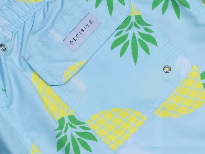Pineapple palm mint pocket
