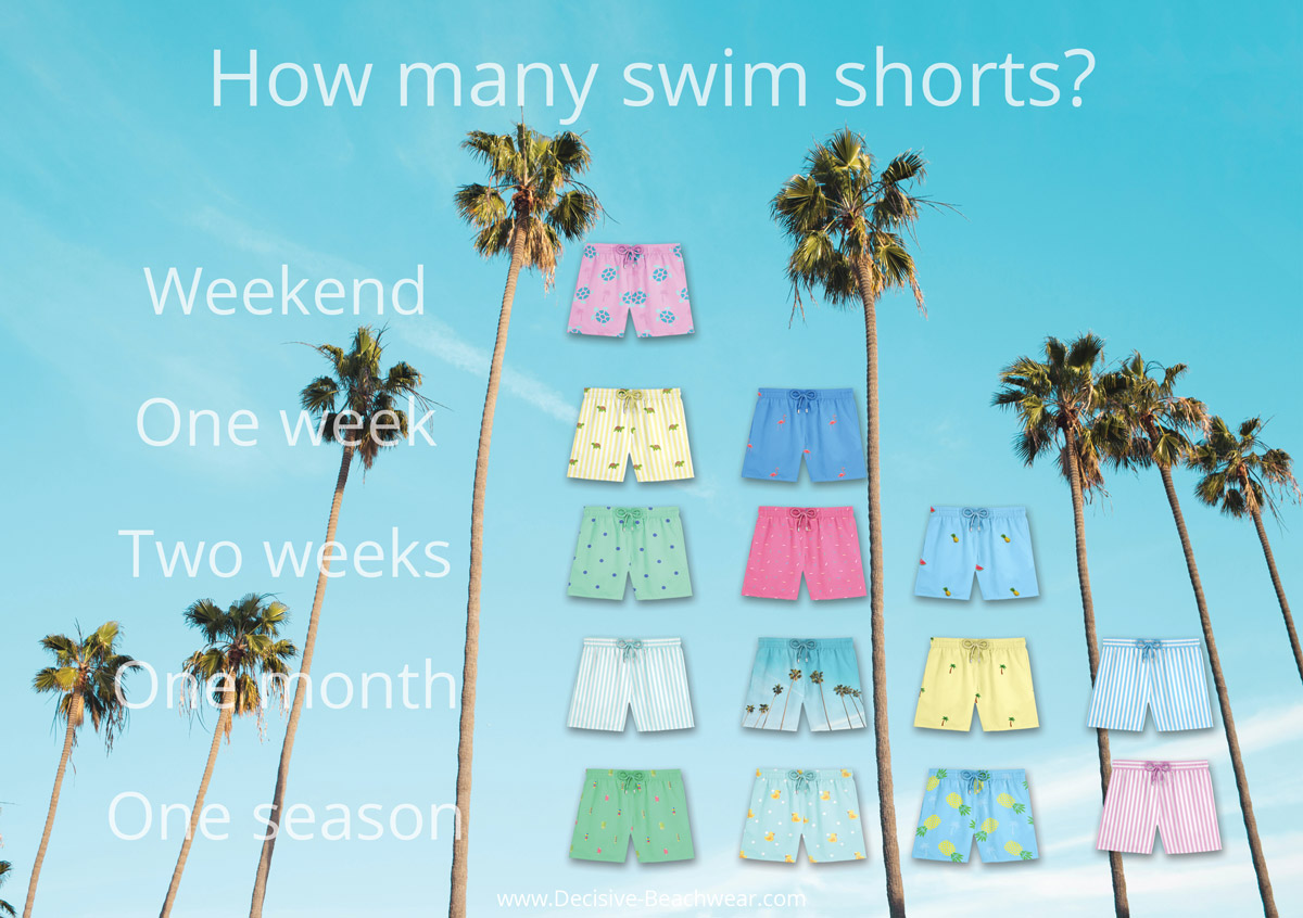 How many swim shorts