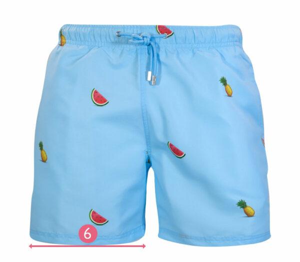 How to measure leg opening swim shorts