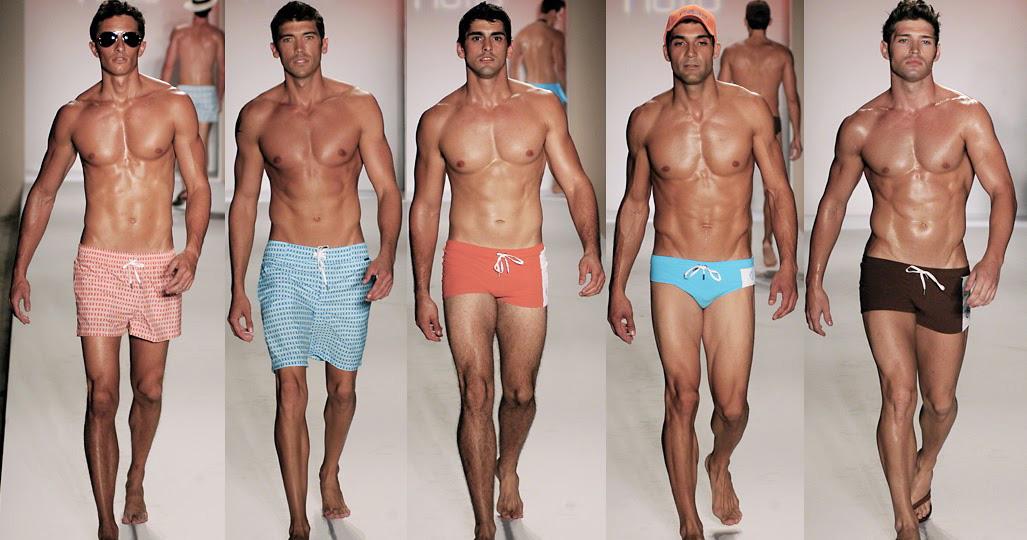 different types of mens swim trunks